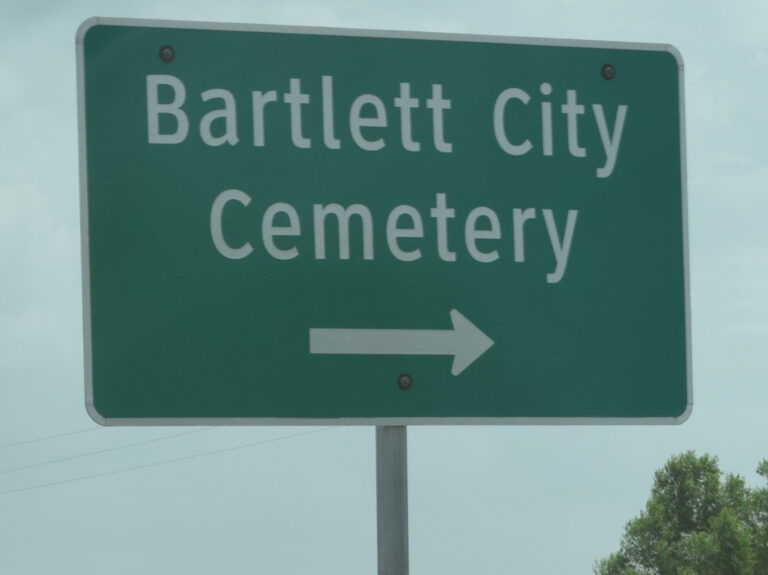 BartlettCemetery-Sign